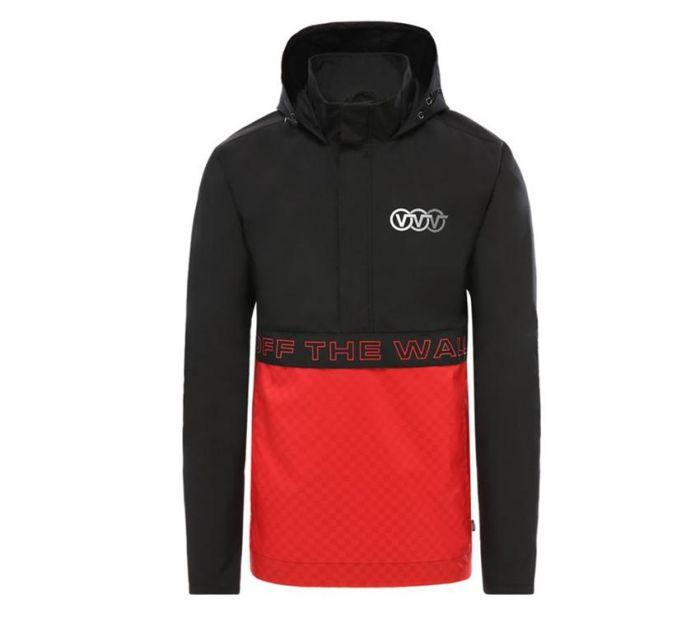 e551d99452 Triple Circle Black/Red Anorak